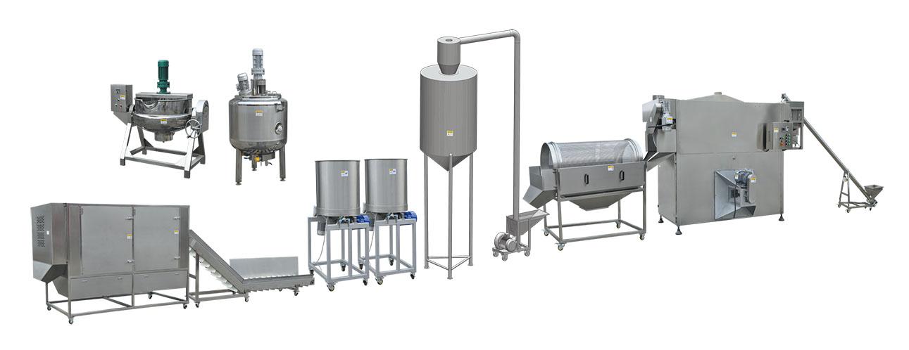 Caramel/Savory Popcorn Production Line