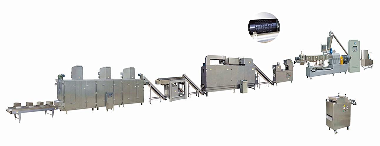 Screw/Shell/Chips/3D Pellet Snacks Production Line